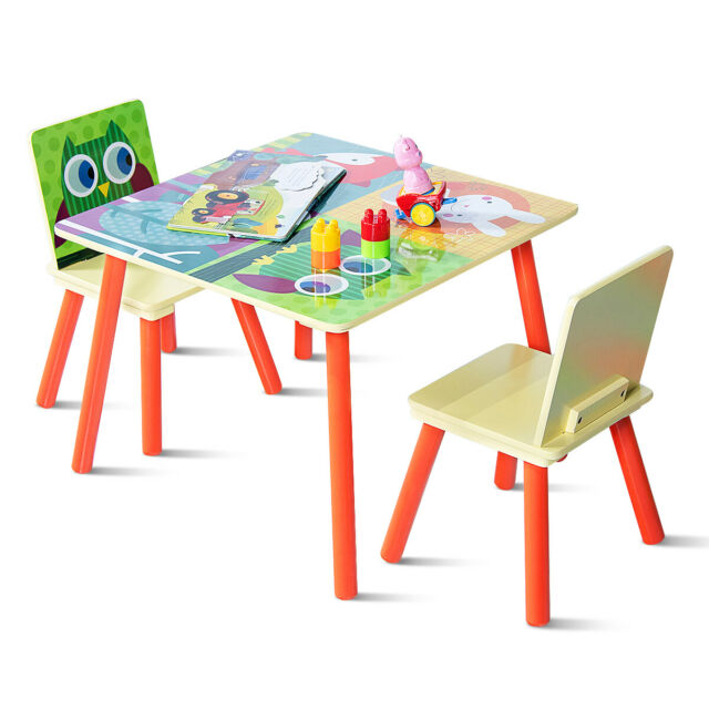 Ikea Children S Kids Table 2 Chairs Set