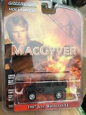 Greenlight  HOLLYWOOD  Macgyver 1987 Jeep Wrangler XJ