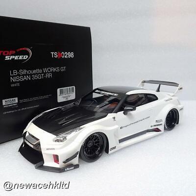 1//18 TSM Top Speed LBWK NIssan R35 35GT-RR LB-Silhouette Works GT TS0298