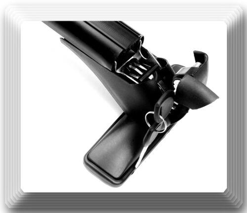 Aluminum CarTop Luggage Roof Rack Cross Bar Carrier Adjustable 105-115cm W//Locks