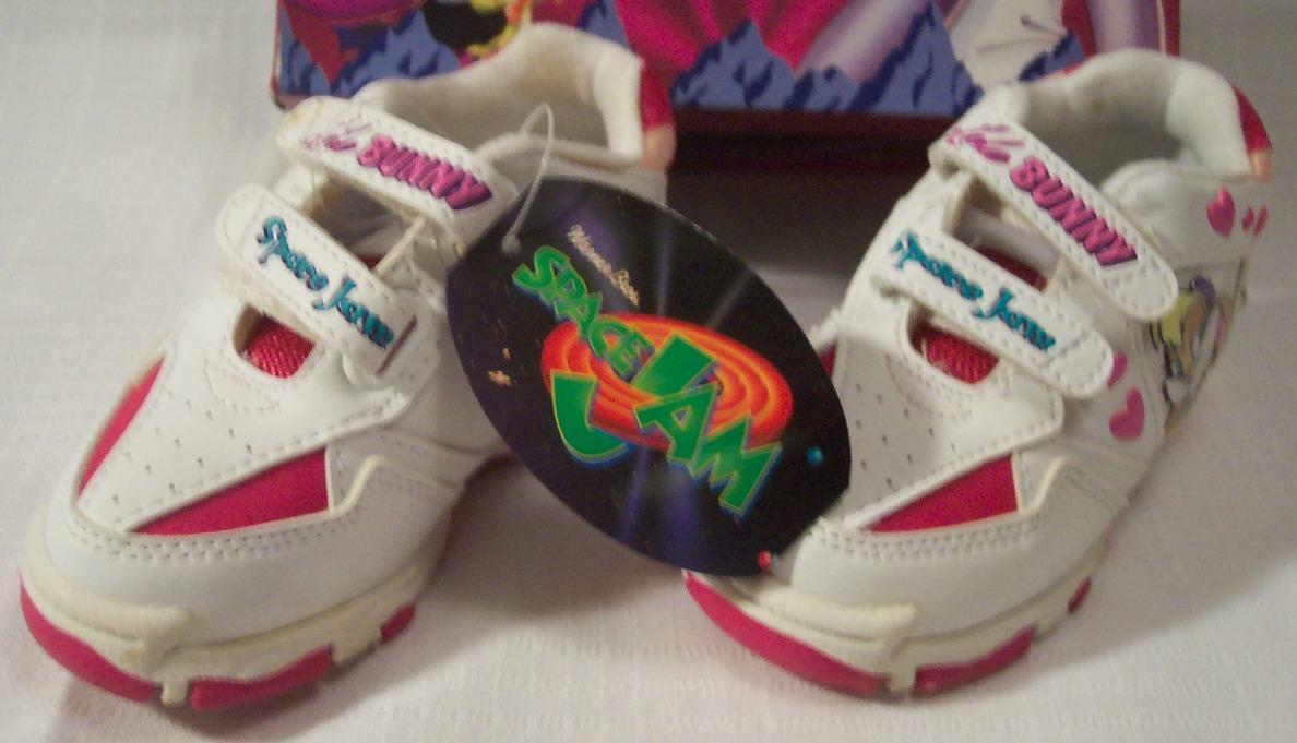0c268fa740b8 WB Looney Tunes Space Jam Basketball Kids Lola Bunny SNEAKERS Size 7 ...
