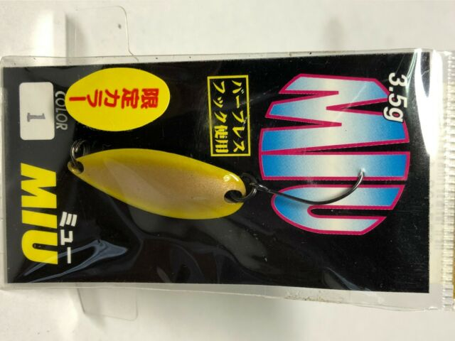 *Forest mu ??lure MIU native abalone 3.5g No.03 spoon FOREST