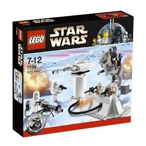 LEGO STAR WARS  7749 ECHO BASE DATED 2009 NRFB
