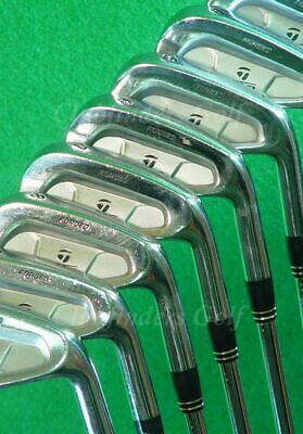 TaylorMade 300 Forged 3-PW Iron Set Precision Rifle Flighted Steel Extra Stiff    eBay