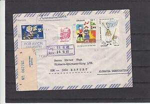 Luftpost-Uruguay-Montevideo-nach-Erfurt-1983