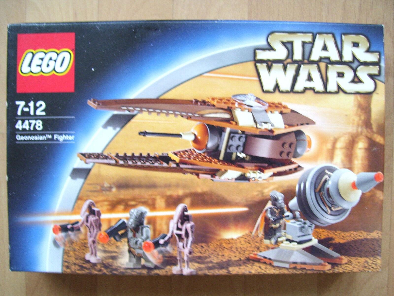 LEGO Star Wars 4478-GEONOSIAN FIGHTER-Nuovo/Scatola Originale-costruzione modulare-ASTRONAVE -