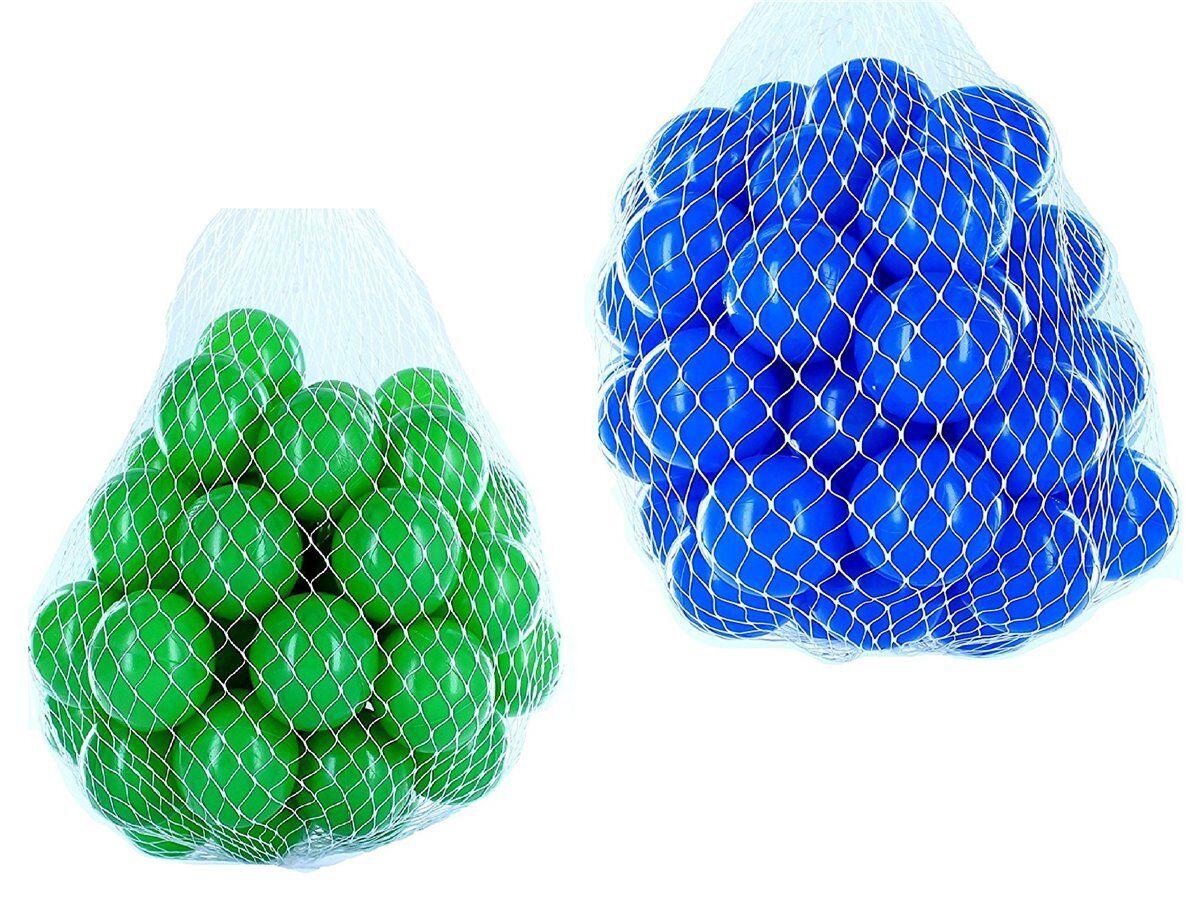 100-10000 Bällebad Bälle 55mm mix grün blau gemischt Farben Baby Kind Spielbälle