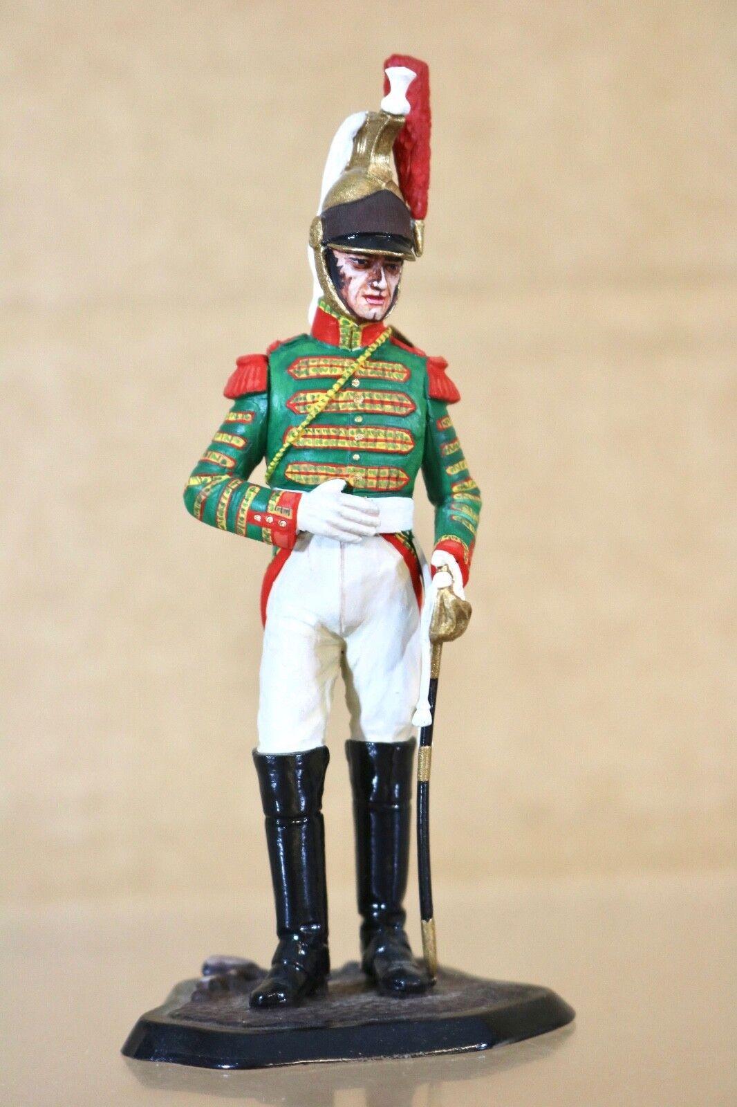 Traditioneller Of London 90mm Napoleonisch Französische Dragoner Soldat Studio