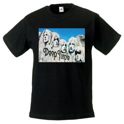 Deep Purple in Rock BLACK t-shirt BAND kids clothing boy girl children