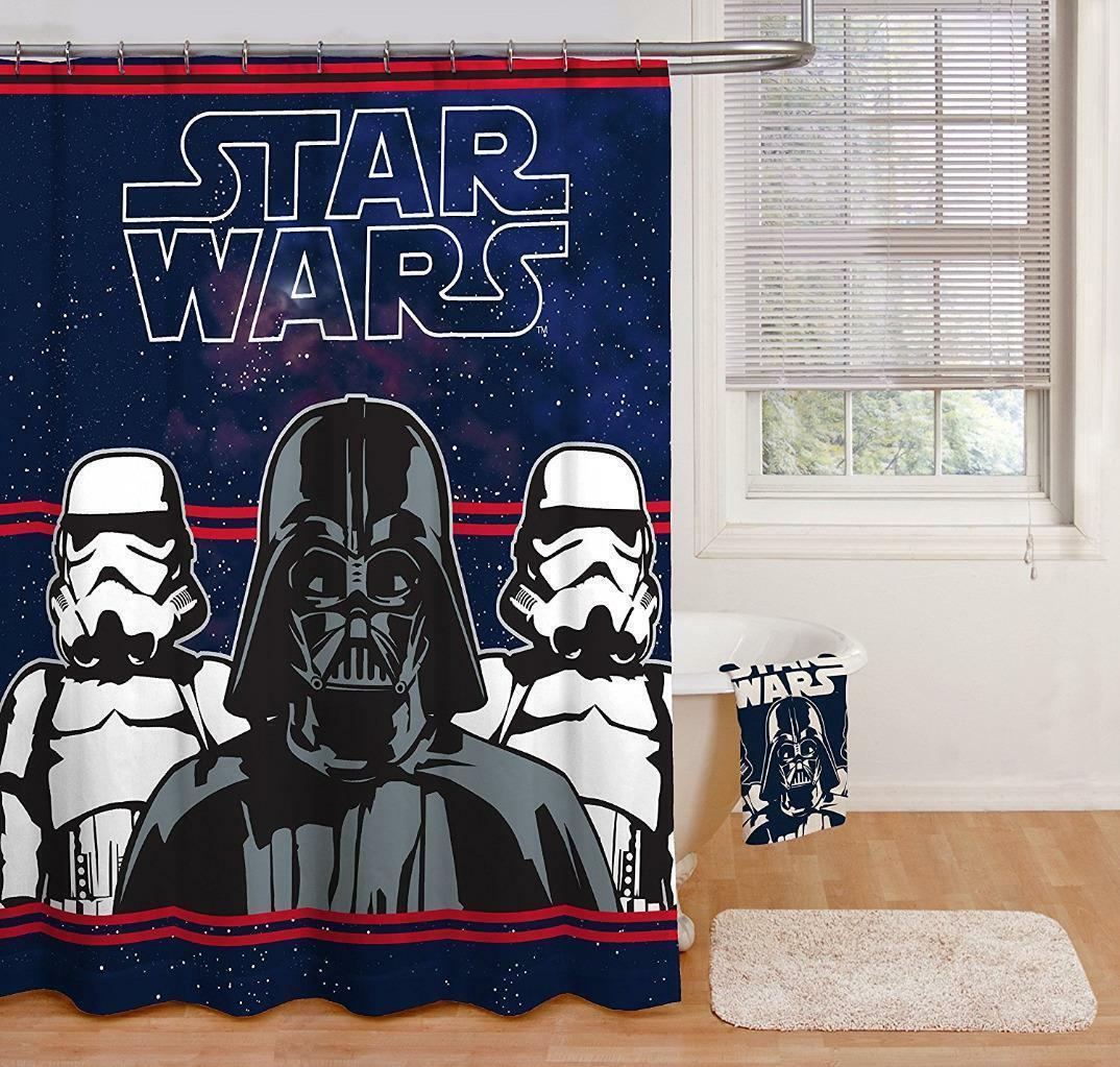 New Star Wars Fiber Shower Curtain 100% Polyester 70  x 72