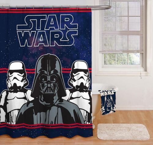 "New Star Wars Fiber Shower Curtain 100/% Polyester 70/"" x 72/"""