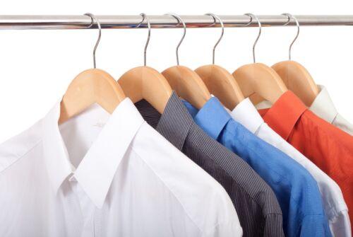 60 en bois cintres pantalon à vêtements Vêtements Cintre Bar NOUVEAU