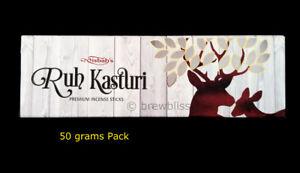 Premium-Ruh-Kasturi-Deer-Musk-Essential-oil-Specialty-Natural-Incense-Sticks-50g