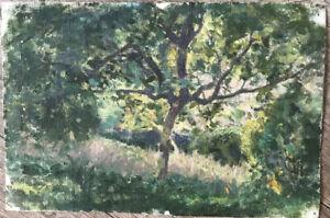 Tableau-Impressionnisme-Paysage-Campagne-Huile-de-Jules-Cyrille-Cave-1859-1949