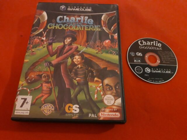 CHARLIE ET LA CHOCOLATERIE NINTENDO GAMECUBE GC PAL EN BOITE FR