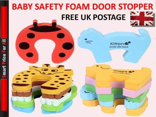 Child Safety Door Stop Protect Fingers Stopper Guard Infant Baby Safe UK Seller