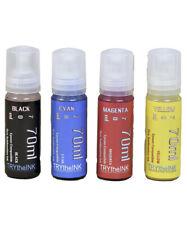 Dye Sublimation Ink 4 70ml Epson Ecotank L1110 L3110 L3150 L4150 L4160 Non Oem