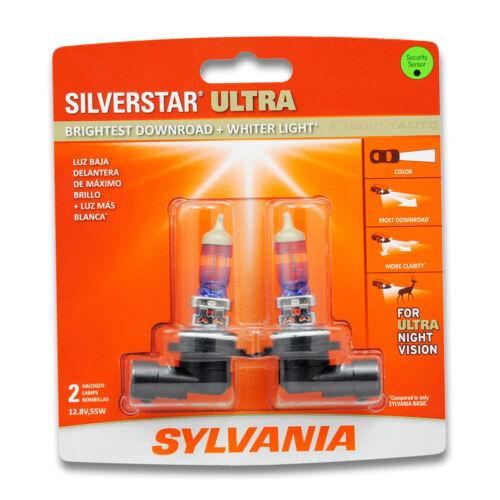 9006SU Light Bulb Fog Daytime Running sw 2 Pack Sylvania SilverStar Ultra