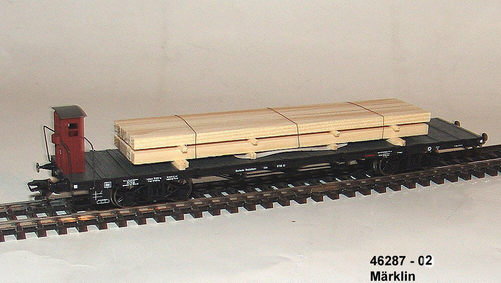 46287-02 - 1 Carro Pianale Der Costruzione Köln Della DRG Aus Display