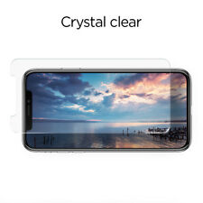 Spigen Apple iPhone X Glas.tr Slim Shockproof Glass Screen Protector - 2pk