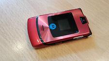 Motorola RAZR V3i  Farbe rot / mit Folie / Klapphandy / ohne Simlock