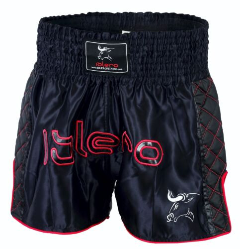 ISLERO Pantaloncini Da Lotta Muay Thai MMA Kick Boxing Arti Marziali Gear GRAPPLING UFC