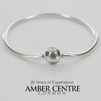 Pandora Moments Smooth Silver S925 Ale Clasp Bracelet-590728-21 Rrp£55