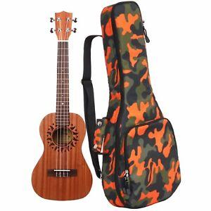 26 Tenor Camouflage Ukulele Gig Bag Musical Instrument Backpack Ukulele Case Ebay