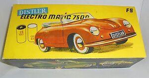 Repro Box Distler Porsche Electromatic 7500 Rundbatterien-afficher Le Titre D'origine Chaud Et Coupe-Vent