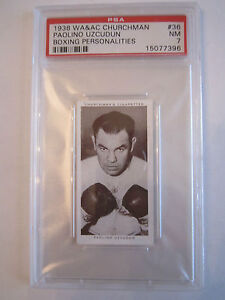 1938-PAULINO-UZCUDUN-BOXING-CHURCHMAN-PSA-GRADED-7-NEAR-MINT-CARD