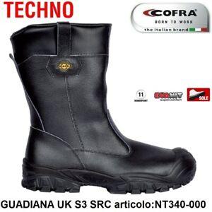 STIVALI-ANTINFORTUNISTICA-COFRA-GUADIANA-UK-S3-SRC-pelle-stampata-idrorepellente