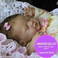 Vinyl Reborn Kit ~ Reborn Supplies~ Baby Kate KIT by Marissa May To make a doll