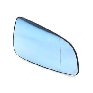 New Left Passenger for Vauxhall Astra H Mk5 04-08 Heated Mirror Glass Blue UK