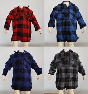 Australian Made Childrens Kids Woolen Bush Shirt Warm