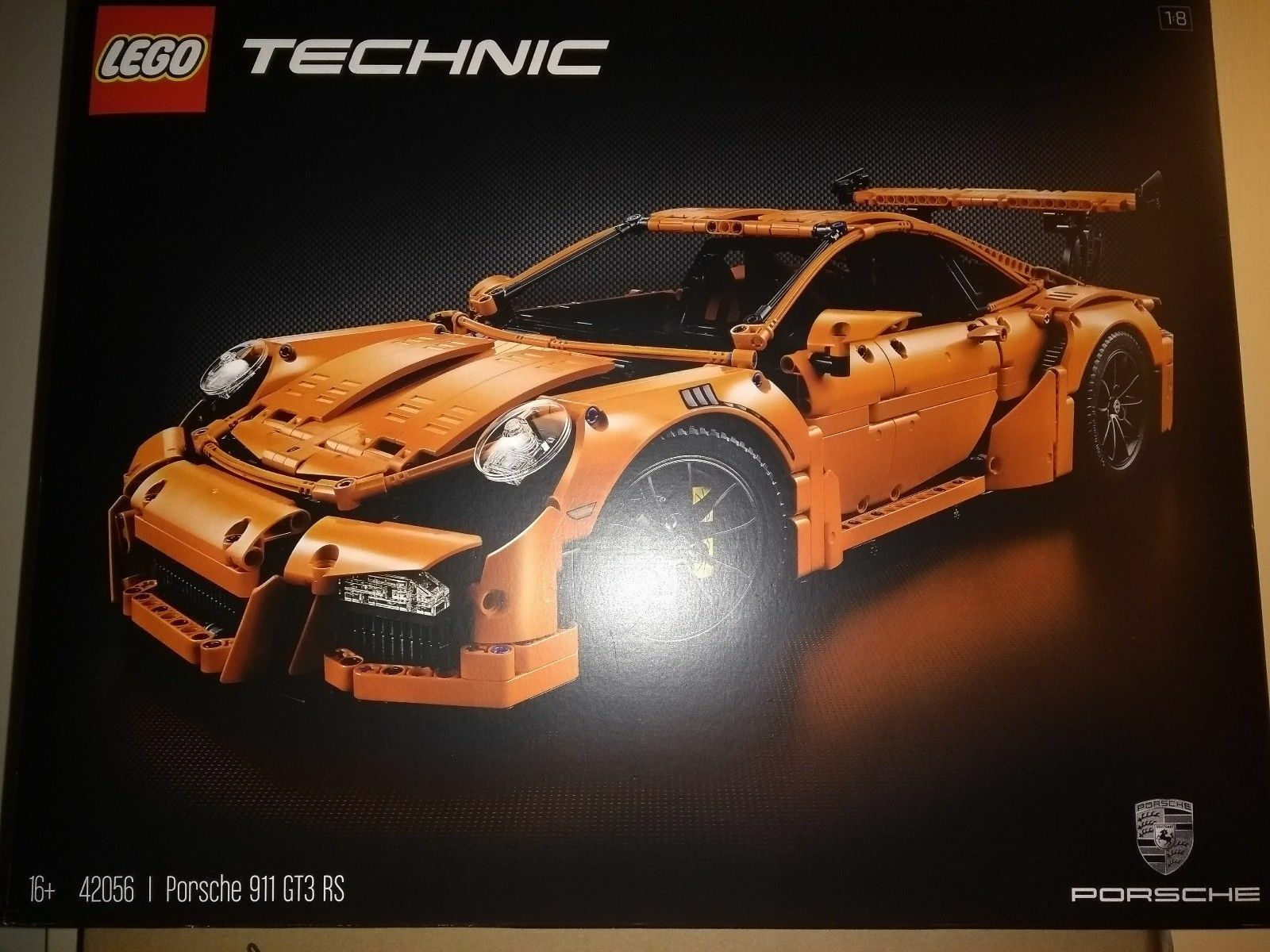 LEGO TECHNIC PORSCHE 911 GT3 RS (42056) Brand New Factory Sealed 1