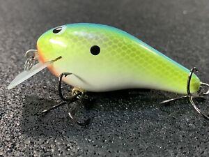 Tennessee Shad Custom Balsa Squarebill Crankbait Greenfish Tackle FAT G2