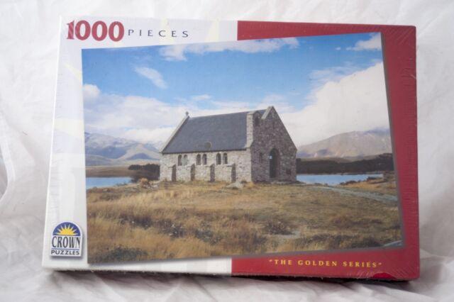 Church of the Good Shepherd Sth Isle, N.Z. Jigsaw 1000 Piece Puzzle