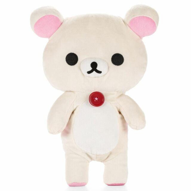 Korilakkuma Plush Doll Fluffy Lying down San-X Japan Rilakkuma
