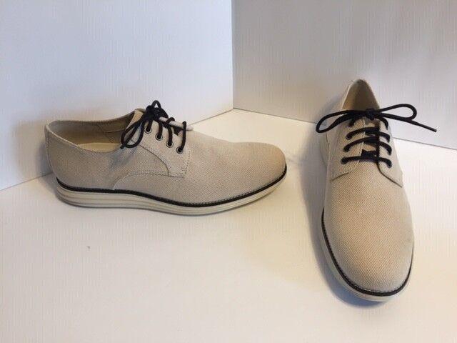 buona qualità Cole Haan Uomo Original Grand Plain Plain Plain Toe Knit Derby Oxford Dimensione 11.5 M Tan C27447  outlet in vendita