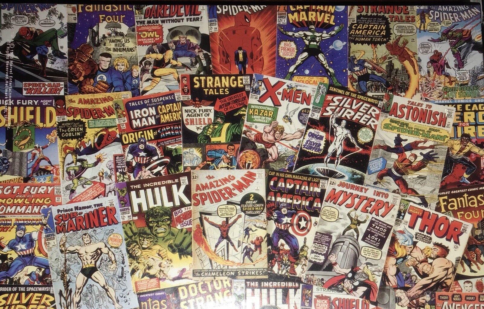 NEW The Marvel Age of Comics 300 Piece Jigsaw Puzzle Springbok - 1984 -  PZL5000