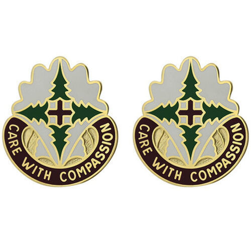 Army Unit Crest DUI Madigan Army Medical Center Care with Compassion