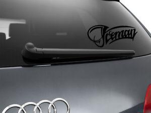 Iceman-Kimi-Raikkonen-F1-Car-Sticker-Window-Showroom-Decal-Black