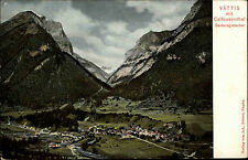 Vättis Schweiz St. Gallen AK 1907 Calfeusenthal Sardonagletscher Gletscher Berge