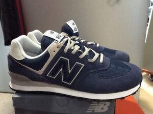 574 new balance uomo blu