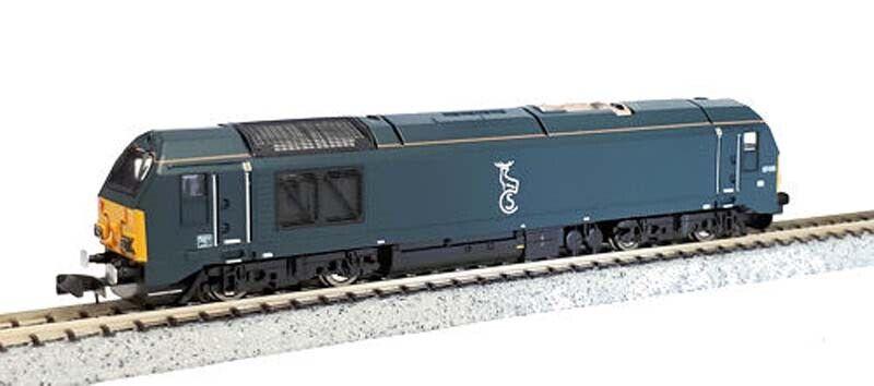 Dapol Class 67 010 Caledonian Sleeper azul N Gauge DA2D-010-005