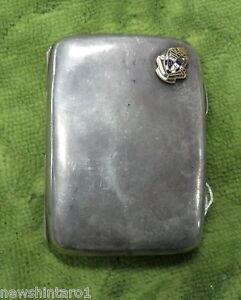 #D179.  SMALL STERLING SILVER CIGARETTE CASE