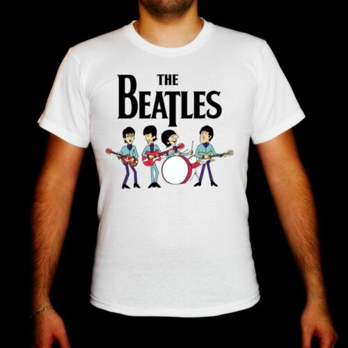 The Beatles Cartoon model:2 MEN t-shirt toddler clothing men shirt unisex tee