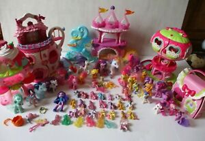 My Little Pony Ponyville Playsets & Ponies Huge XMAS Toy Lot