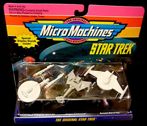Micro Machines Galoob Original Star Trek Collection 1 Set 1993 65825 New