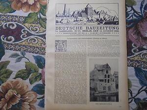 1920-Bauzeitung-65-Altbauten-Lubeck